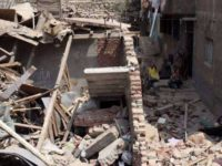 مصرع شخصين و إصابة ثلاثه  أخرون في انهيار منزل بالدقهلية