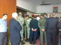 اعتصام مدرسي الحصة بالدقهلية داخل مبنى المحافظة