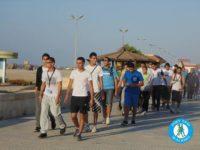 بالصور .. شباب بورسعيد ينظمون ماراثون للمشي كل ثلاثاء
