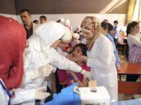 الحكومة السورية تتعهد بضمان إيصال اللقاحات والمعونات الانسانية للمناطق المحاصرة
