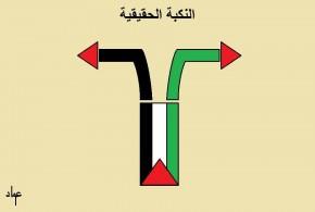 النكبة الحقيقة …. بريشة عماد عواد