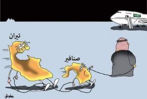 أزمة الجزر المصرية تيران وصنافير – بريشة عصام حنفي