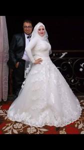 العروس .... منى محمد مصطفى غيته  و المحاسب محمد محمود فهمى