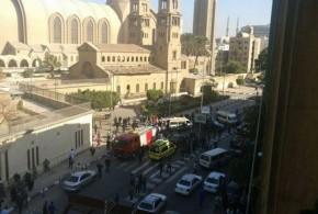 إخلاء محيط الكاتدرائية بالعباسية عقب حادث اليوم
