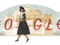 """جوجل يحتفل بميلاد """" درية شفيق """"  إحدي رواد حركة تحرير المرأة في مصر"""