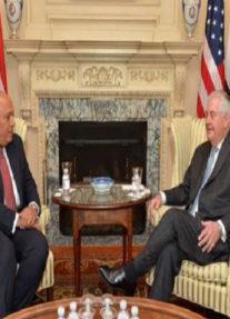 وزير الخارجية الأمريكي يعلن تأييد بلاده للجهود المصرية في مكافحة الإرهاب واستعدادها للتعاون مع مصر