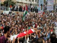 """خلال تشيع جنازة """" جواودة"""" الأردنيون يطالبون بالغاء معاهدة السلام  … ونتنياهو يشكر الملك"""