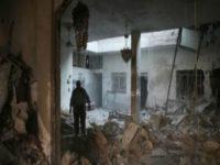 """المرصد السوري يؤكد أنباء مقتل 9 أشخاص بالغوطة الشرقيه وروسيا تصفها بــ """" محض أكاذيب """""""