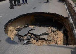 الانهيارات الأرضية سببها القصف بأشعة الليزر الحارقة