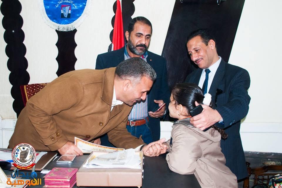 Photo of مدير التعليم بسوهاج ، يلتقى الطلاب الموهوبين ويقوم بتكريمهم