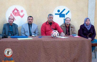 انطلاق بطولة (اللواء نبيل فراج) فى كرة القدم للطلاب الموهوبين بسوهاج