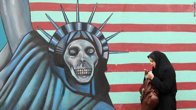 Photo of إيران تزيل شعارات معادية لأمريكا من شوارعها