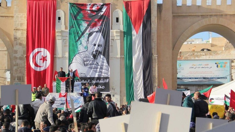 Photo of تظاهرات تجوب شوارع صفاقس مطالبة بالكشف عن قاتلي الزواري