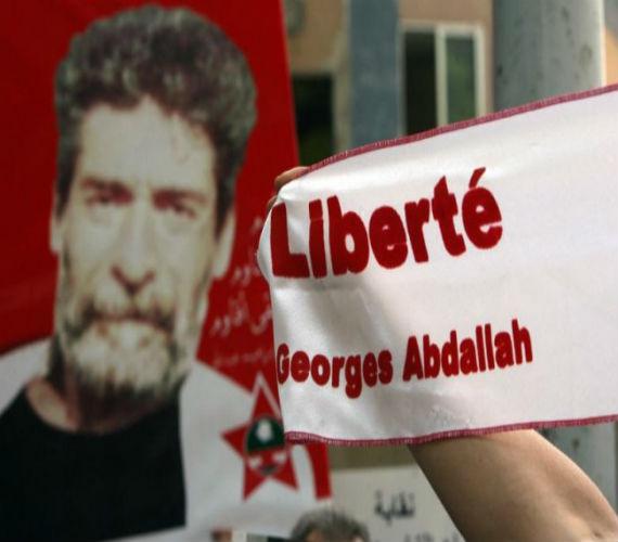 """Photo of المناضل الأسير """" جورج عبد الله """" يضرب عن الطعام بالسجون الفرنسية تضامنا مع الأسري الفلسطينين"""