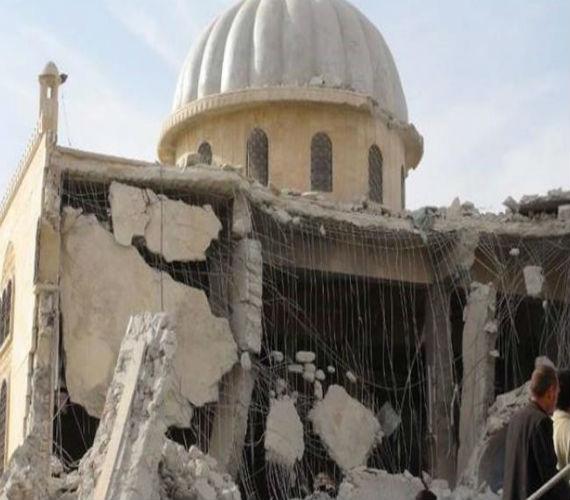 Photo of هيومن رايتس : تدين قصف الولايات المتحده لمسجد في حلب أودي بحياة 38 شخص ليس بينهم عناصر إرهابية