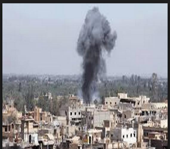 Photo of مقتل ثمانية متطوعين بريف حماة الشمالي إثر ضربة جوية