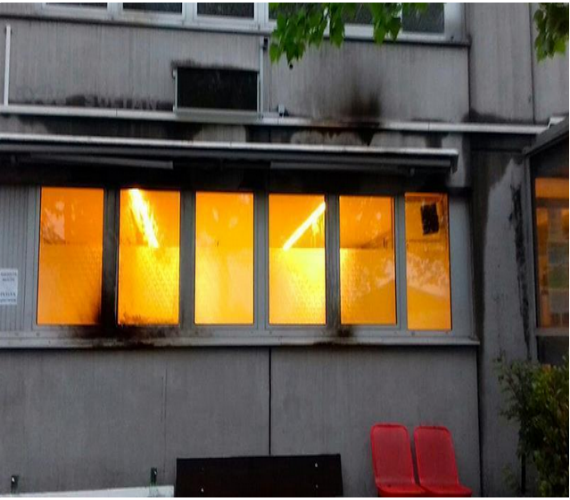 Photo of هجوم بالزجاجات الحارقة علي مسجد بألمانيا والأمطار تطفئ النيران قبل انتشارها