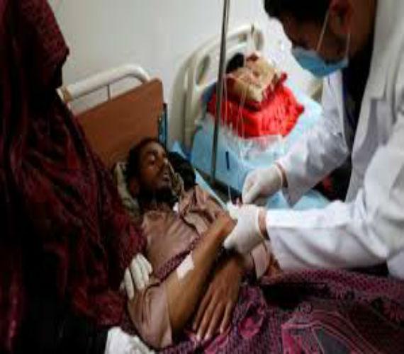 Photo of الصليب الأحمر : 11 ألف حالة إشتباه بـالكوليرا ووفاة 180 شخص جراء  تفشي الوباء