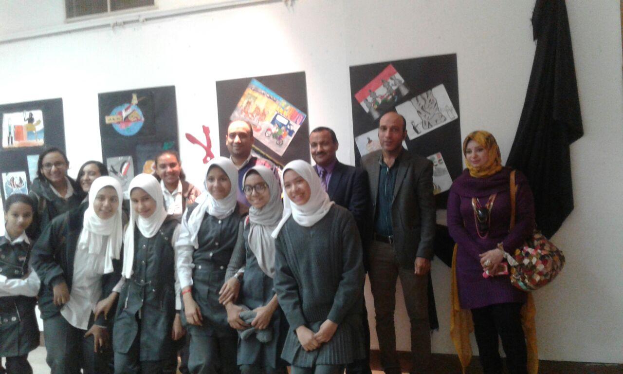 Photo of بحضور وكيل تعليم سوهاج  ( معرض لا للارهاب) صرخه قوية من موهوبى سوهاج ضد الارهاب