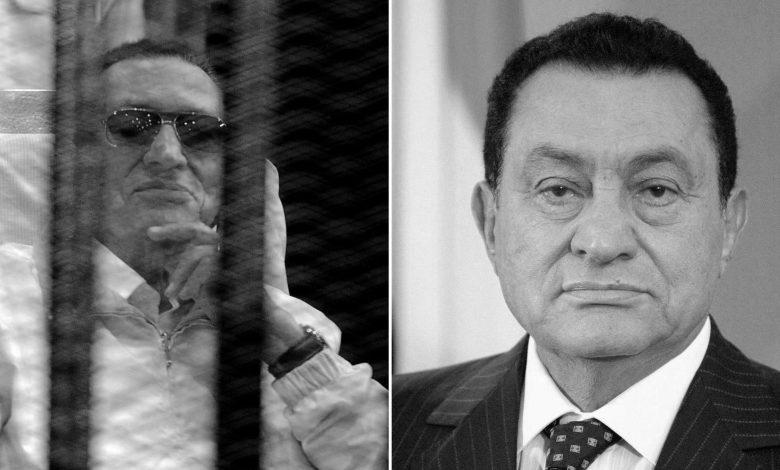 وفاة مبارك - أوراق عربية
