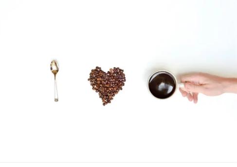 فنجان قهوة - أوراق عربية