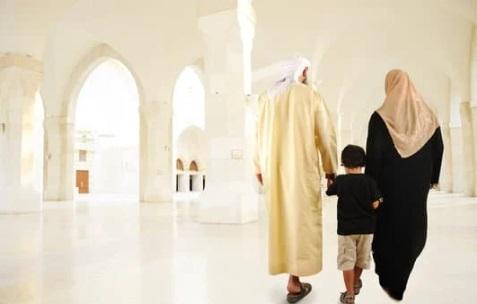أسرة مسلمة ، أوراق عربية